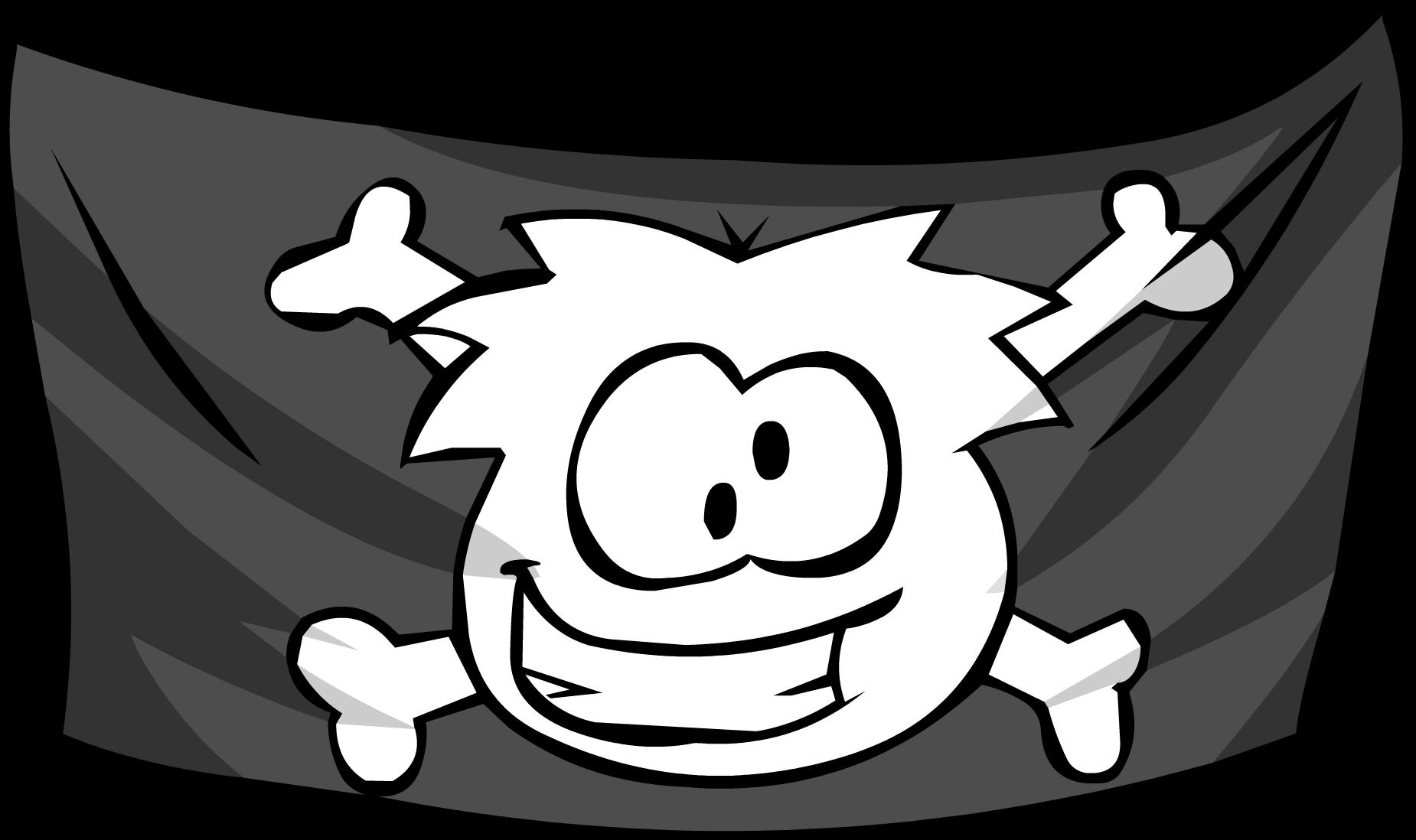 jolly roger flag club penguin wiki fandom powered by wikia rh clubpenguin wikia com jolly roger pirate flag clip art