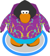 Purple Whirl Snowsuit IG