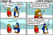 The Fourth Ever Club Penguin Comic