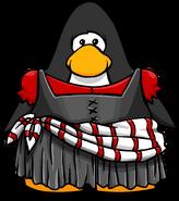 Stripedsashdress