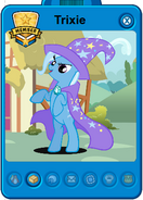 Trixie Player card