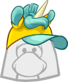 Yellow Unicorn Hat icon