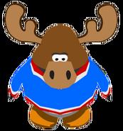 Zeus the Moose ingame