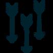 Calcomanía Flecha icono