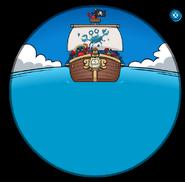 Cangrejos Piratas en el Barco
