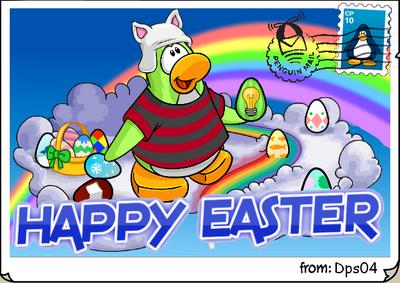 Easter 2014 postcard dps04