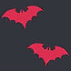 Fabric Bats Red icon
