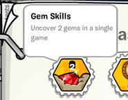 Gem skills stamp book