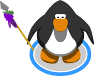 Grape Spear in-game