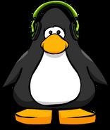 Green Headphones PC