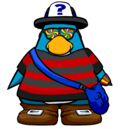Non-member penguin player card look11223344