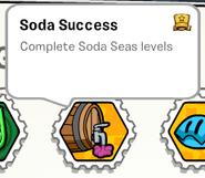 Soda success stamp book