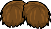 Brown Pompoms
