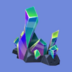Clúster de Cristal Icono