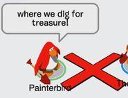 Painterbird: ¡Busquemos el tesoro!