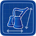 Blueprint Binoculars icon