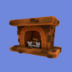 Bronze Fireplace icon