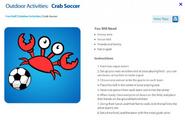 Crab Soccer