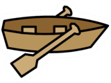Rowboat Pin