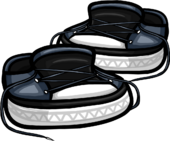 Slate Untied Sneakers icon