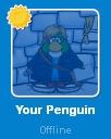 Your Penguin desconectado en la Lista de Amigos