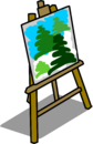 Easel sprite 011