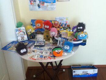 My Club Penguin Toys