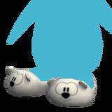 Pantuflas de Osito icono