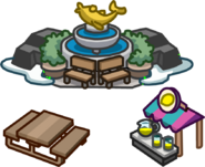 School & Skate Party Forest Map Icon