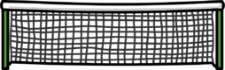 Tennis Net furniture icon