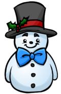 Top Hat Snowman furniture icon ID 587