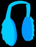 Blue Earmuffs clothing icon ID 483