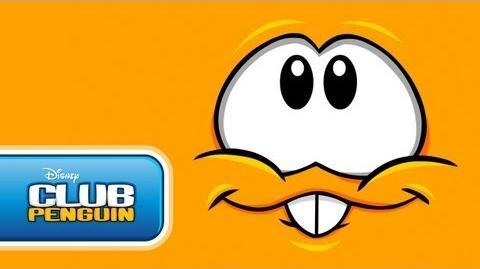 Club Penguin Orange Puffle's Tasty Cartoon Short