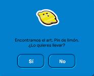 Encontrando el Pin Limón