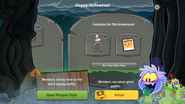 Halloween Party 2016 app interface page 8