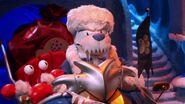 Herbert in Sleigh