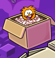 Orange Puffle NOT A EDIT