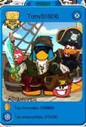 Yo en la Fiesta Pirata 2014