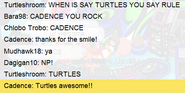 Cadence Acknowledges my Existence