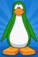 Creando un pingüino Verde