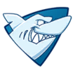 Decal Shark cup icon