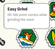 Easy grind stamp book