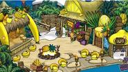 La Bahía durante la Fiesta de la Aventura; El Templo de Frutas (despues)