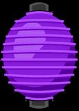 Purple Paper Lantern