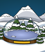 SNOW GLOBE IGLOO card image