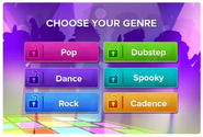 SoundStudio app music genres sneak peek