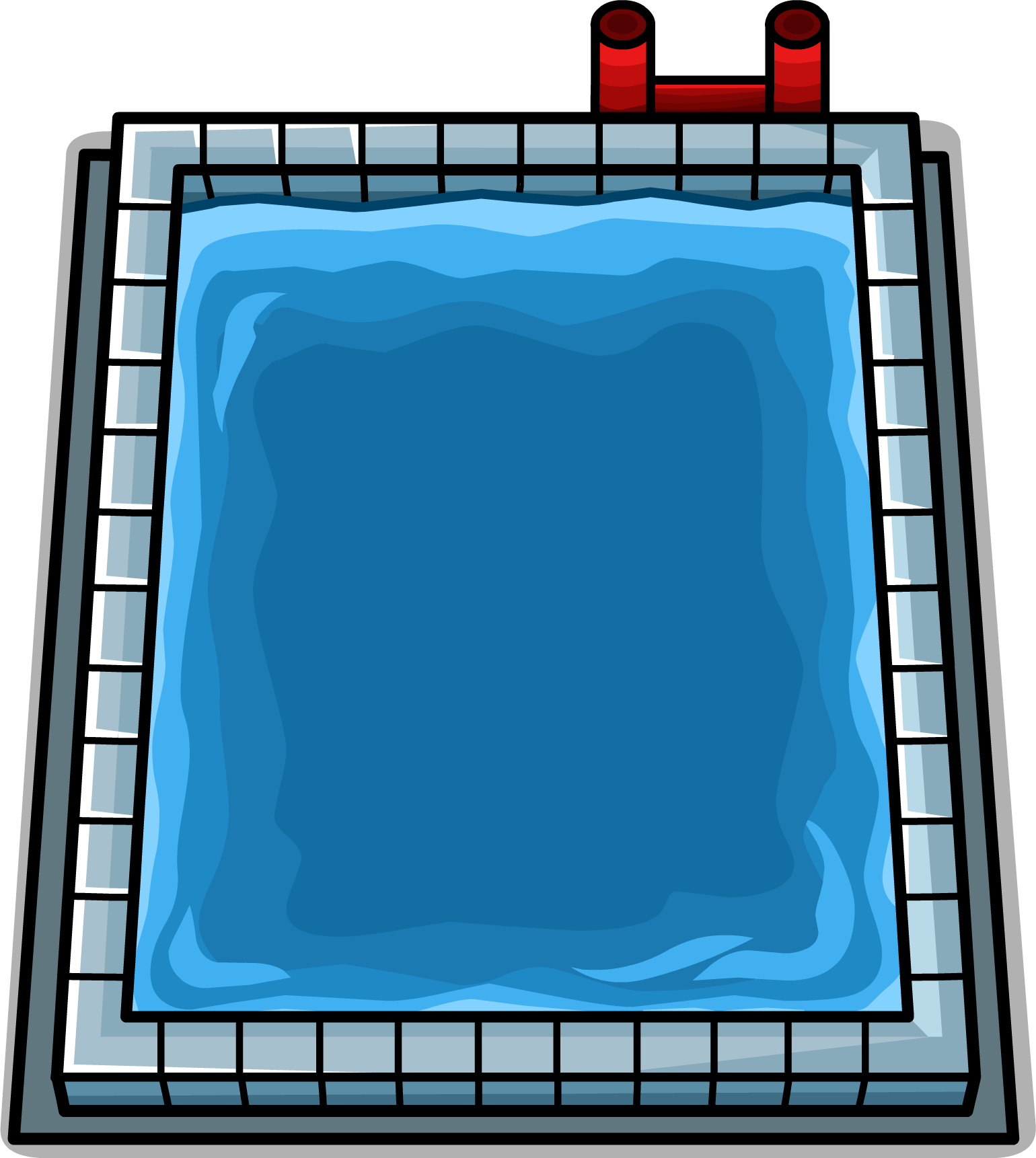 Swimming pool clipart  Image - Swimming Pool sprite 002.png | Club Penguin Wiki | FANDOM ...