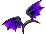 Alas de Murciélago Violeta