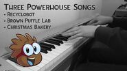 Club Penguin Music 11 - Recycling Center, Brown Puffle Lab, Christmas Bakery