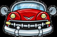 Coche Rojo icono